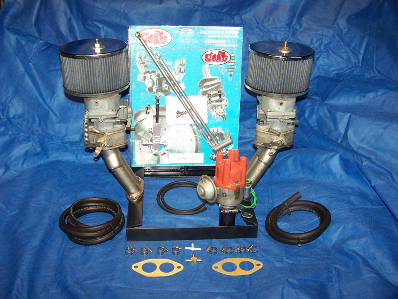 "Kadron ""Turn Key"" Dual Carburetor Kits"