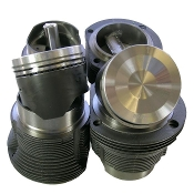 Engine Pistons, Cylinders, Rods, and Related