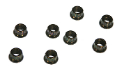 12-point Engine Nut, 8mm, pack of 8