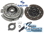 Sachs Complete Clutch Kit, Type 1 Engine- '70 & earlier 200mm