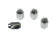 "Chrome Lug Nuts, 1/2""-20 Acorn Style, Set of 4"