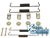 Brake Hardware Kit, Front or Rear
