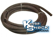 Cloth Braided Fuel Hose, 5mm, Sold per foot
