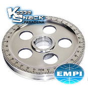 EMPI Santana Polished Aluminum Pulley