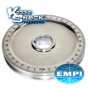 EMPI Standard Polished Aluminum Pulley