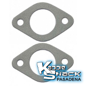 Weber 40/44 IDF or EMPI 40/44HMPX Carb Base Gaskets, pair