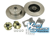 Disc Brake Kits, 4x130mm Late VW Bolt Pattern
