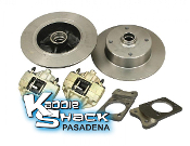 '71-'79 Super Beetle Front Disc Brake Conversion Kit 4x130