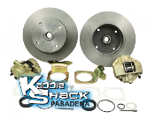 STANDARD Rear Disc Brake Kit '68 +up 4x130mm No Ebrake
