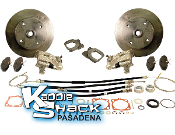 DELUXE Rear Disc Brake Kit '68 to '72 4x130mm HAS Ebrake