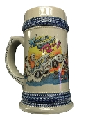 Kaddie Shack Racing Official Soda (aka Beer) Collectible Stein