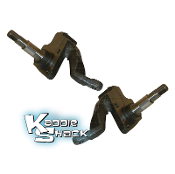 "2-1/2"" Drop Spindles for Link Pin Type 1 with Drum Brakes"