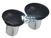Nylon Kadron Velocity Stack Screen Filters, Pair