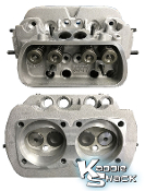 Autolinea Dual Port Stock Cylinder Head, sold each