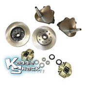 Link Pin Porsche/Chevy Disc Brake Kit with Drop Spindles