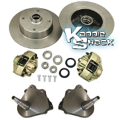 Link Pin 4x130 Disc Brake Kit with Drop Spindles