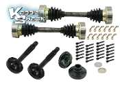 Super Duty Bus Axles into IRS Bug Kit For Type 1 Trans