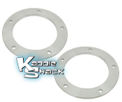 "5x205mm Aluminum Wheel Spacers, 3/8"" Thick, Pair"