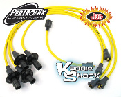 Pertronix Flame-Thrower 7mm Spark Plug Wires, Yellow