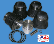 77mm Performance Pistons and Cylinders Kit - 1200cc 40HP Engine