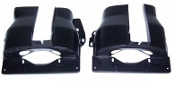 Dual Port Cylinder Shrouds (pair) - Black