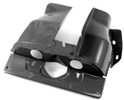 Single Port Cylinder Shrouds (pair) - Black