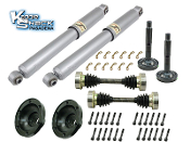 "Off-Road 10.5"" Travel Kit for Stock IRS Rear Suspension"