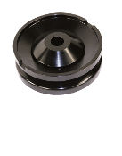 Billet Aluminum Alternator/Generator Pulley, Black