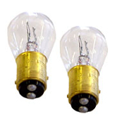 12V Bulbs, Dual Filament, #1157, pair