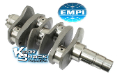 EMPI 4340 Forged Counterweighted Crankshaft, VW Journal