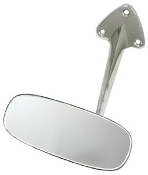 Rear View Mirror for 65' to 67'  Bug - Chrome OE Style