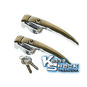 '56 to '59 Bug Keyed Alike Door Handles, pair