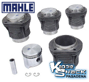 Mahle Forged Pistons and Cylinders Kit, 85.5mm x 69mm