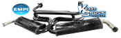 "EMPI Dual Quiet Pack 1-3/8"" Exhaust System"