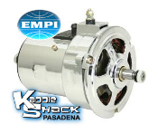 EMPI Chrome Alternator, Type 1 Engines - 75 amp