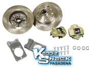 Bolt-On Ball Joint Disc Brake Kit, Porsche 5x130mm + GM 5x4.75""