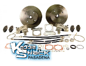 STANDARD Rear Disc Brake Kit '73 to '79 4x130mm HAS Ebrake