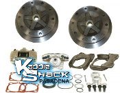 5x205mm Rear Disc Brakes Without Emergency Brake