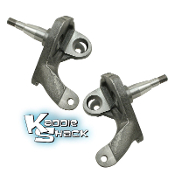 "2-1/2"" Drop Spindles for Ball Joint Type 1 w/Stock Disc Brakes"