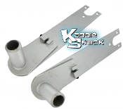 Swing Axle Adjustable Spring Plates, Pair, for Long Torsion Bars
