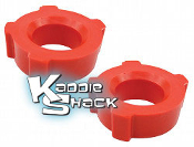 "Urethane Knobby Spring Plate Bushings, pair 1-3/4"" - See Chart"