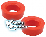 "Urethane Round Spring Plate Bushings, pair 1-3/4"" - See Chart"