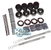 Chromoly Racing/Off-Road Axle Kit IRS Bus into Bug for 3x3 Arms