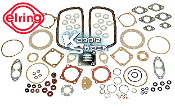 German Engine Gasket Set with Flywheel Seal