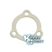 3-Bolt Exhaust Flange Gaskets, Sidewinder, Pair