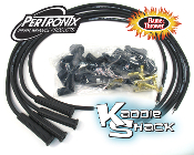 Pertronix Flame-Thrower 8mm Cut-To-Length Spark Plug Wires Black