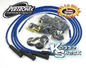 Pertronix Flame-Thrower 8mm Cut-To-Length Spark Plug Wires Blue
