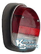 Taillight, Right, '68-'69 Bug, Red