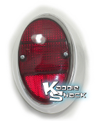 Taillight, Right, '62 to '67 Bug, Red