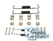 Brake Hardware Kit, Front, Type 1 '65 to '77